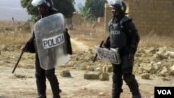 Polícia em acção no Bié (Arquivo)