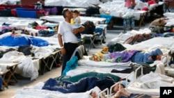 یک مرکز اقامت پناهندگان در جرمنی