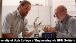 «لوک آرم» دست و بازوی مصنوعی - عکس از «دن هیکسون»، دانشکده مهندسی دانشگاه یوتا