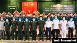 Việt Nam thành lập hải đội dân quân ở Kiên Giang, ngày 9/6/2021. Photo SGGP