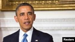 Barack Obama s'est félicité dans son allocution radiophonique hebdomadaire de la bonne tenue de l'économie américaine