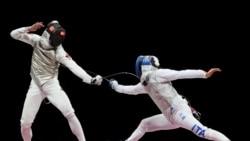 香港選手張家朗奪得奧運男子花劍金牌