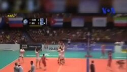 پیروزی ایران در لیگ جهانی والیبال در برابر کوبا