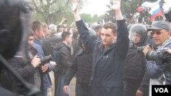 Так в Петербурге проводились задержания