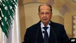 Michel Aoun, le président du Liban.