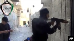 叙利亚反政府武装5月3日在大马士革与政府军展开战斗
