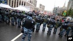 Policija u Moskvi, 10. avgust 2019.