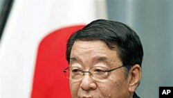 후지무라 오사무 일본 관방장관 (자료사진)