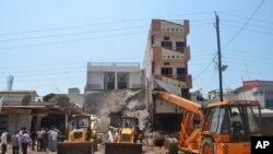 Poprište eksplozije u indijskoj državi Madhja Pradeš