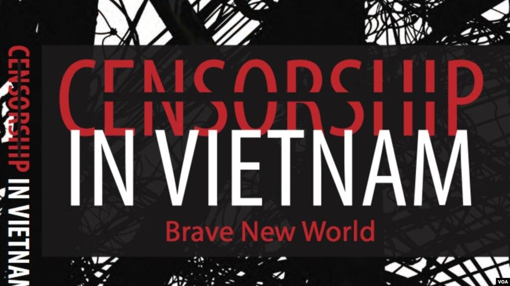 """Hình bìa tác phẩm """"Censorship in Vietnam: Brave New World"""" của giáo sư Thomas Bass."""