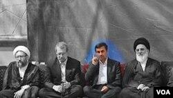 روزهای خوب احمدی نژاد در کنار برادران لاریجانی سپری شده است؟