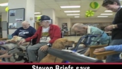 Pets Bring Smiles (and Wags) to Retirement Home