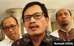 Guru Besar Fakultas Kehutanan, IPB, Didik Suhardjito. (Foto:VOA/Nurhadi)