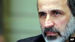 Lãnh tụ đối lập Mouaz al-Khatib lãnh đạo phái đoàn chiếm lấy ghế trống của Syria tại hội nghị thượng đỉnh của Liên đoàn Ả Rập.