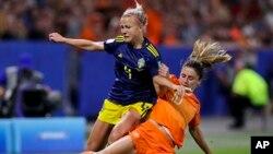 APTOPIX France Netherlands Sweden WWCup Soccer