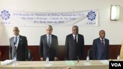 Ministros da Defesa de CPLP reunidos em São Tomé