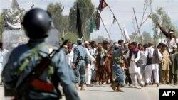 Nastavljaju se protesti u Avganistanu zbog paljenja Kurana u SAD, 4. april 2011.