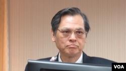 台灣陸委會主委陳明通資料照。