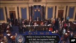 美國總統奧巴馬星期二簽署了提高債限協議