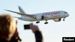 787 Dreamliner, da Ethiopian Airlines