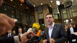 Le Premier ministre grec Alexis Tsipras négocie toujours avec les créditeurs de la Grèce (AP)