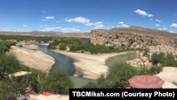 Rio Grande daryosi... AQSh-Meksika chegarasida