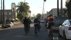 Bicycling to Work Gains Popularity in Los Angeles