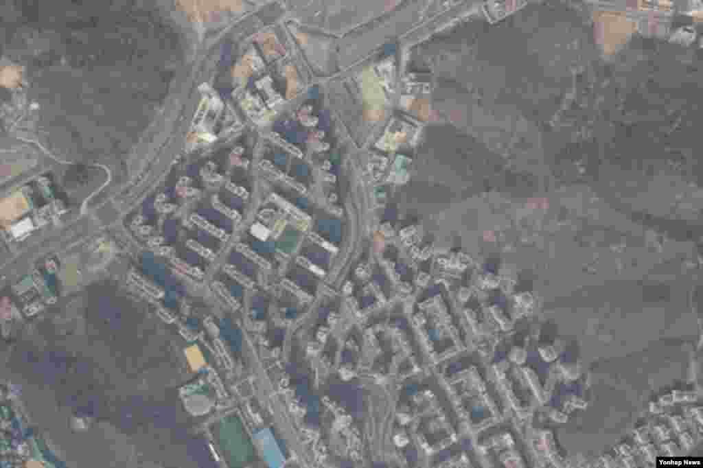파주에서 추락한 북한 발진 추정 무인기가 촬영한 은평 뉴타운 일대.