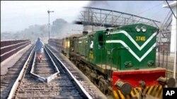 انفجارات پیهم در خط راه آهن سند پاکستان