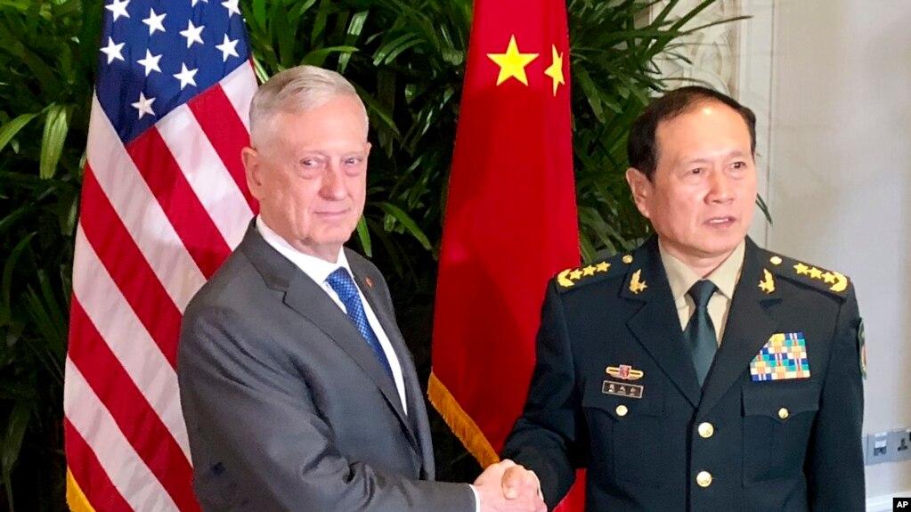 Мэттис и его китайский коллега провели «прямые и искренние» переговоры