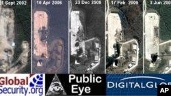 今年一月份的衛星照片顯示北韓的太空發射設施