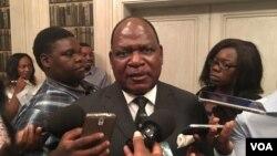 Misheck Sibanda, chief cabinet secretary.