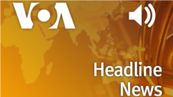 VOA Headline News 08.00 WIB