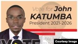 John Katumba mgombea kiti cha urais kijana nchini Uganda