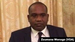 Alpha Barry, ministre des affaires étrangères, à Ouagadougou, le 25 novembre 2017. (VOA/Zoumana Wonogo)