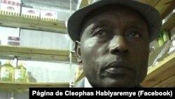 Cleophas Habiyaremye, porte-parole de l'Association des réfugiés rwandais au Mozambique.