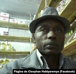 Cleophas Habiyaremye, porta-voz da Associação dos Rwandeses Refugiados em Moçambique