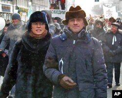2月4日的莫斯科反政府游行
