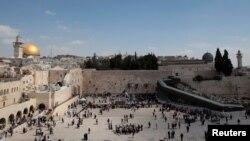 En la foto la ciudad de Jerusalén.