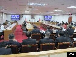 台灣立法院司法及法制委員會12月28號質詢的情形