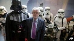 Pencipta 'Star Wars' George Lucas dalam sebuah acara di Singapura (2014)