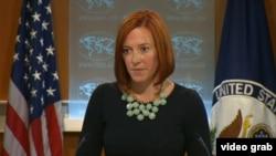 Dövlət Departamentinin sözçüsü Jen Psaki