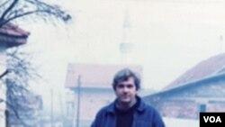 Tom Gjelten u Hrasnici u decembru 1994.