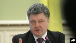 Ukrajinski predsednik Petro Porošenko