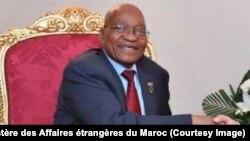 Le président sud-africain Jacob Zuma lors du dernier sommet UE-UA, à Abidjan, Côte d'Ivoire, 29 novembre 2017. (Twitter/Ministère des Affaires étrangères du Maroc).