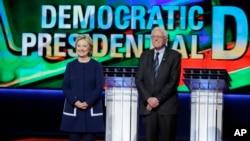 ဒီမိုကရက္တစ္ပါတီသမၼတေလာင္းေတြျဖစ္တဲ့ Hillary Clinton နဲ႔ Bernie Sanders တို႔ရဲ႕ ဒီမိုကရက္ပါတီ စကားစစ္ထိုးပြဲ