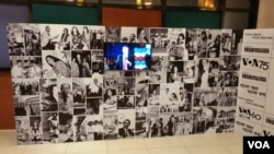 The VOA photo exhibition