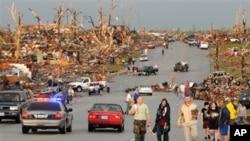 密苏里州乔普林市5月22号遭受强烈龙卷风