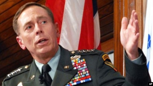 General David Petraeus (file photo)