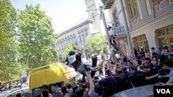 Протесты в Тбилиси 17 мая